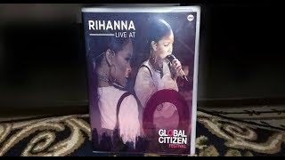 Unboxing Rihanna - DVD Live At  Global Citizen Festival 2016 FAN MADE