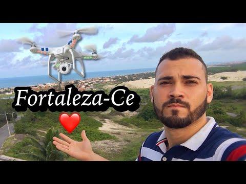 Conhecendo os melhores pontos turísticos de Fortaleza-Ceará com DRONE !!! ( Vlog do Conrado )