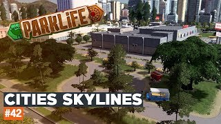 Cities Skylines #42 | CYGAŃSKIE FOODTRUCKI | Parklife DLC