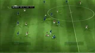 FIFA Soccer 09 Xbox 360 Gameplay - Yellow Card