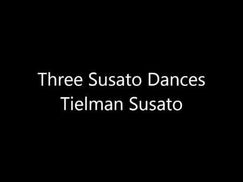 Three Susato Dances by Tielman Susato