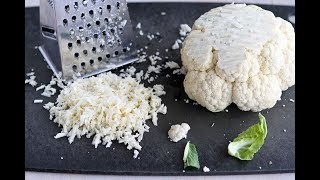The Easy and Inexpensive Way to make Cauliflower Rice with Veggies (no kitchen required)