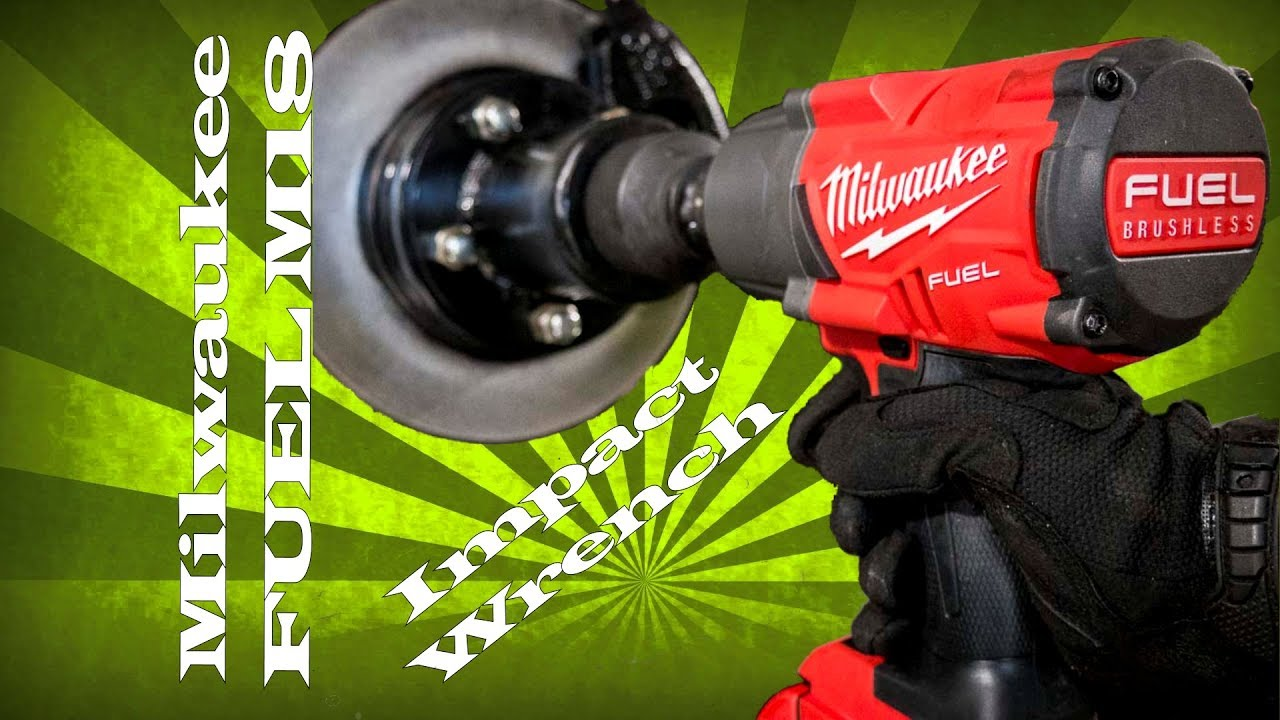 Most Technologically Advanced Impact Wrench Milwaukee Fuel M18 Brushless Cordless