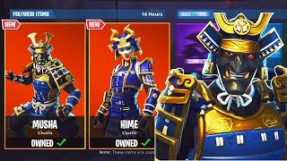 "NEW ""MUSHA"" SKIN GAMEPLAY + ""Cat's Claw"" Pickaxe Gameplay! New Fortnite SKINS!"