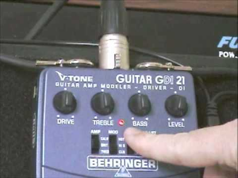 Behringer V-Tone GDi21 Review - TheRecordingRevolution.com
