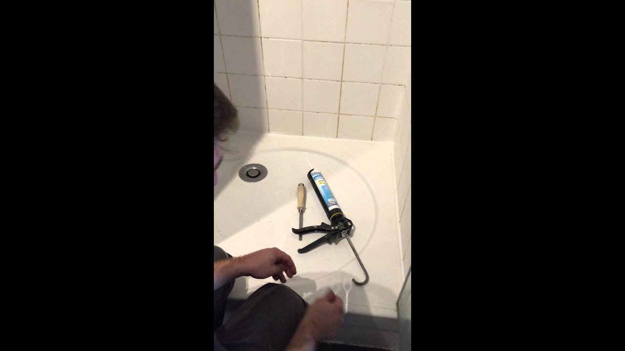 sechage joints silicone salle de bain - youtube