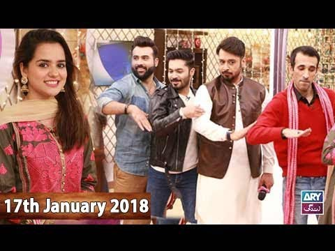 Salam Zindagi With Faysal Qureshi -  17th January 2018 - Ary Zindagi