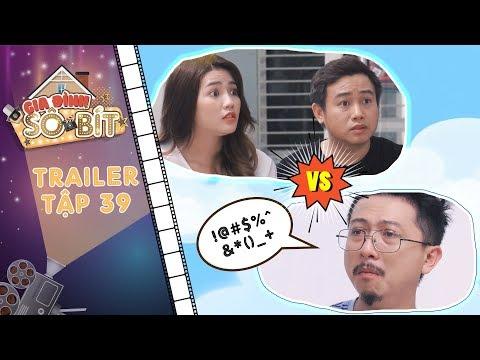 Gia đình sô - bít|Trailer tập 39: An Vy, Hữu Tín lo lắng sốt vó khi Bảo Nghĩa mang hung tin đến nhà?