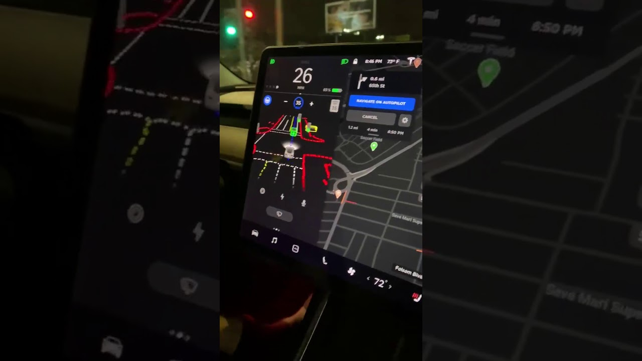 First Video of Tesla's Full Self Driving Beta #2