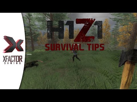 H1Z1 Survival Tips - Purify water without flame and capture food!