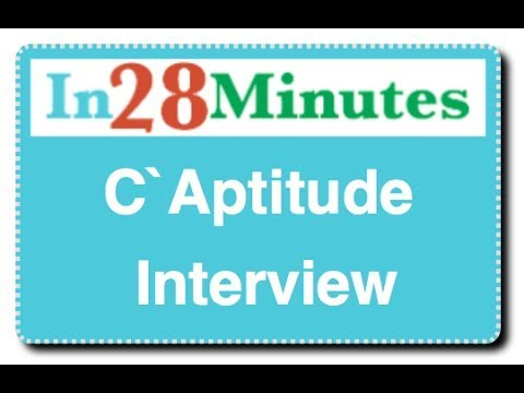 C Aptitude Interview Questions : with 100 Puzzles
