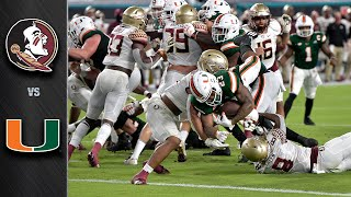 Florida State vs. Miami Game Highlight (2020)