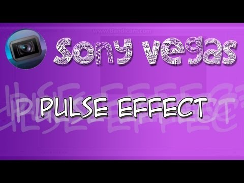 Sony Vegas | Pulse Effect - Voice & Written Tutorial (To The Beat Of The Music)
