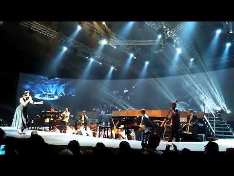 Konser Andien Metamorfosa 15 Tahun Andien  JCC, Jakarta Convention Center