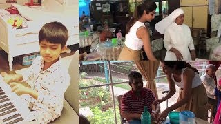 Shilpa Shetty and Raj Kundra celebrate son Viaan's 6th birthday in a old age home