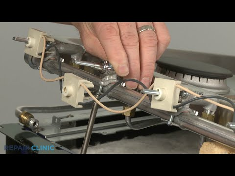Rear Burner Valve - Kitchenaid Double Oven Gas Range (Model #KFGD500ESS04)