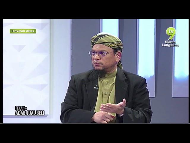 Hukum menjual barangan 'copy ori' atau tiruan? Program Tanyalah Ustaz, TV 9