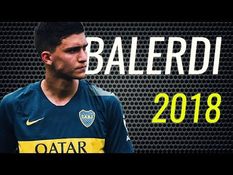 Leonardo Balerdi • The Wall • Boca Juniors • Magic Defensive Skills • 2018 • HD