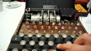 ENIGMA M3 Rotor-Chiffriermaschine