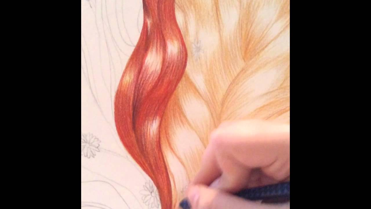 How to draw with colored pencils - How To Draw With Colored Pencils 44