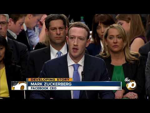 Facebook CEO grilled by senators over data scandal