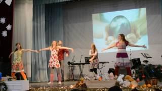 """Танец на Рождество """"ЗВЕЗДА"""""""