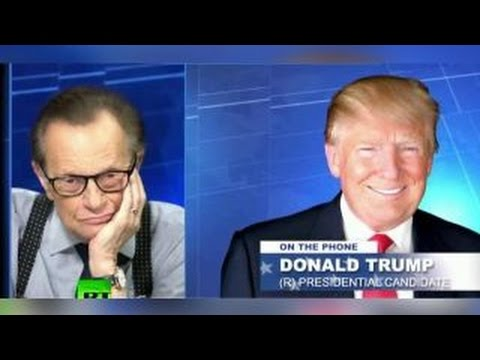 Critics blast Trump for Larry King interview on Russia TV