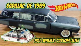 Custom CADILLAC 1959 HOT WHEELS ECTO 1 GHOSTBUSTERS | CUSTOM MEXICO