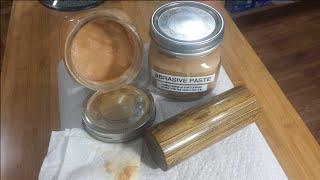 Wood Abrasive Paste With Tripoli