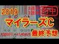 マイラーズカップ 2019 最終予想【競馬予想】