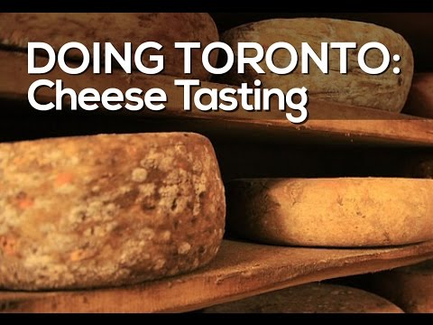 Cheese Tasting at Cheesewerks in Toronto, Canada - With Tips on How to eat Cheese.
