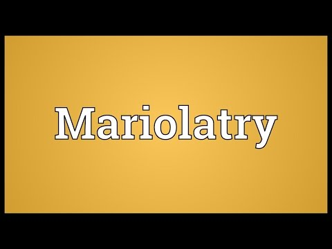 Header of Mariolatry