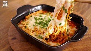 チーズラッポッキ|쿠킹하루 Cooking Haruさんのレシピ書き起こし