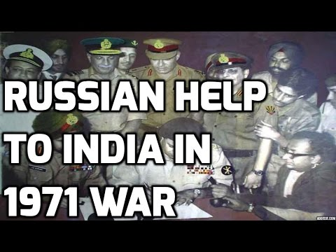 INDO PAK WAR 1971: How Russia (Soviet Union) helped india ?