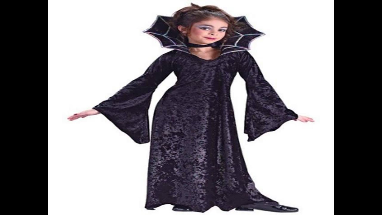 halloween costumes for kids girl v&ire  sc 1 st  YouTube & halloween costumes for kids girl vampire - YouTube