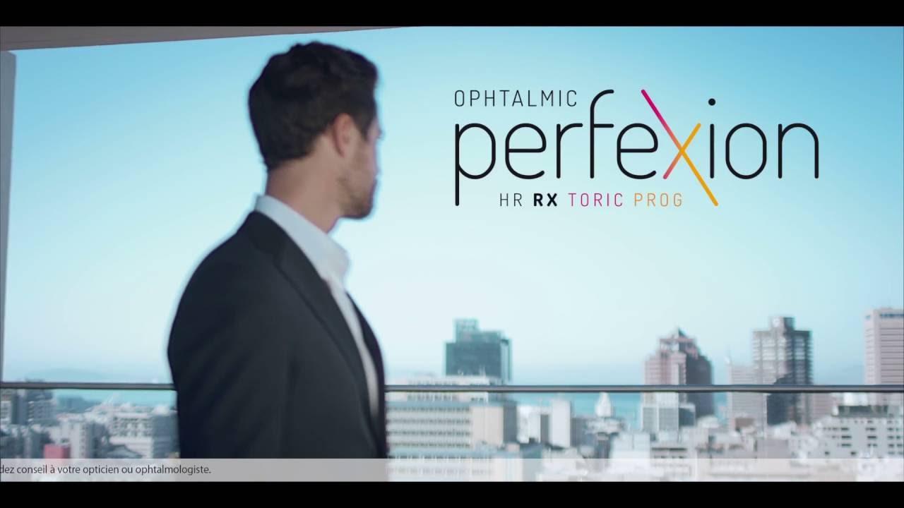 Ophtalmic PerfeXion  La lentille pour presbytes astigmates ! - YouTube 8d2fd5cdd441