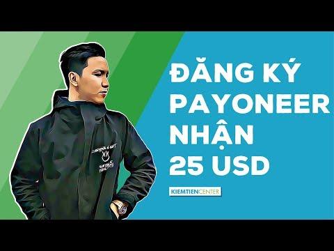 Hướng dẫn đăng ký tài khoản Payoneer để nhận $25 miễn phí [CẬP NHẬT MỚI NHẤT]   Kiemtiencenter
