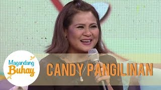Candy Pangilinan shares how FPJ helped her in entering showbiz | Magandang Buhay