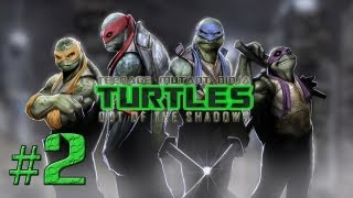 TMNT: Out of the Shadows - Chapter 1 - Part 2 (Walkthrough, Lets Play Commentary)