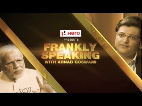 Frankly Speaking with Narendra Modi - Full Interview