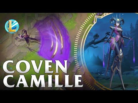 Coven Camille Skin Spotlight - WILD RIFT