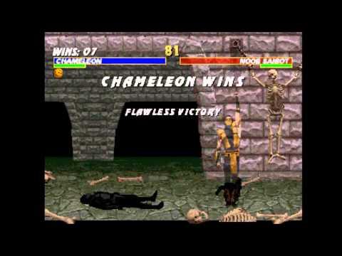 Mortal Kombat Trilogy (PSX) - Longplay as Chameleon