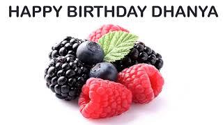 Dhanya   Fruits & Frutas - Happy Birthday