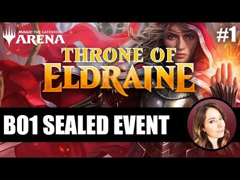 Throne Of Eldraine Sealed #1 | MTG Arena (sponsored)