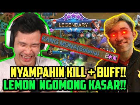 LEMON NGAMUK, NGOMONG B***, BUFF + KILL DISAMPAHIN JESS!! WKWKWKWK - Mobile Legends