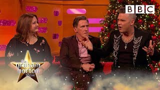 Robbie Williams' ridiculous Christmas tradition! | The Graham Norton Show - BBC