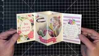 Open Center Box Card Inspired by Nyoka's Tea Light Card