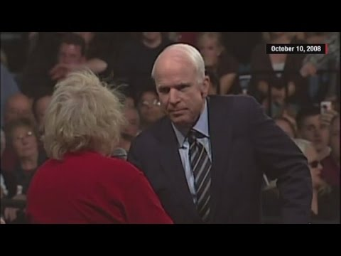 The Real Story Behind John McCain's Famous Campaign Rally Moment