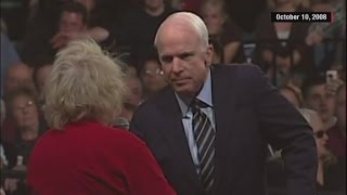 Flashback: McCain tells supporter Obama is 'a decent...