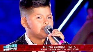 """Bruno Correa se emocionó hasta las lágrimas cuando cantó """"No me doy por vencido"""""""